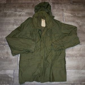 Vtg M-65 Ownbey Military OG Men's Field Jacket Med